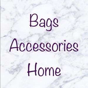 Bags accessories and home below